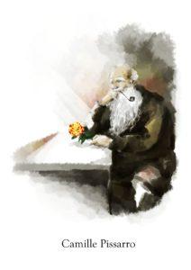 Rosa Camille Pissarro【カミーユピサロ】
