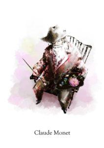 Rosa Claude Monet【クロードモネ】