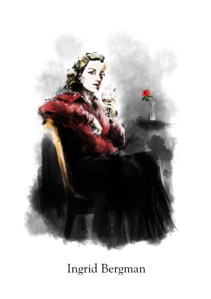 Rosa Ingrid Bergman【イングリッド・バーグマン】